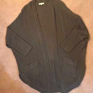 CXO Grayish sweater, 3/4 sleeves with 2 Pockets